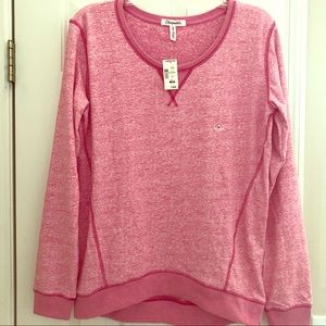 NWT Aeropostale sweatshirt pink/white marble. Med